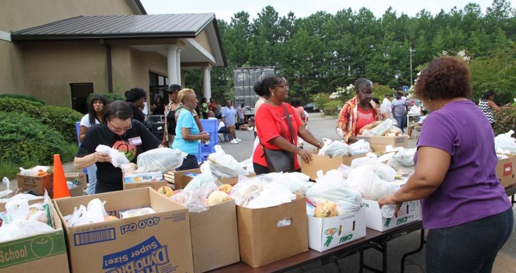 South Texas Food Bank Volunteer