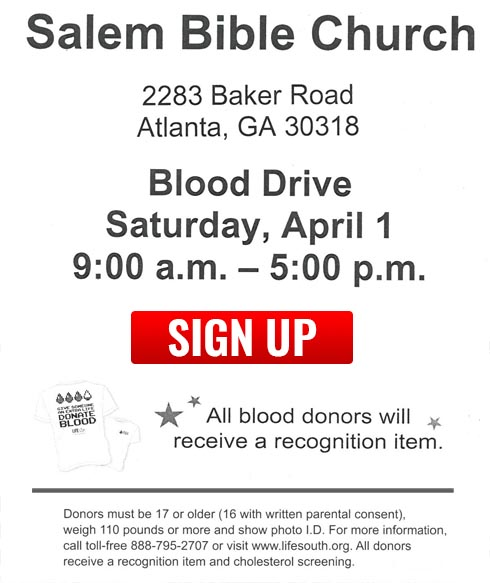 Blood Drive Location 1